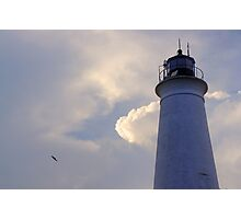 St. Marks Lighthouse - St. Marks, FL Photographic Print