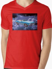 Oldsmobile Cutlass Supreme Muscle Car Mens V-Neck T-Shirt
