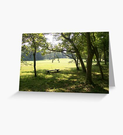 Spirits of the Ancestors - Grand Village of the Natchez Indians Greeting Card