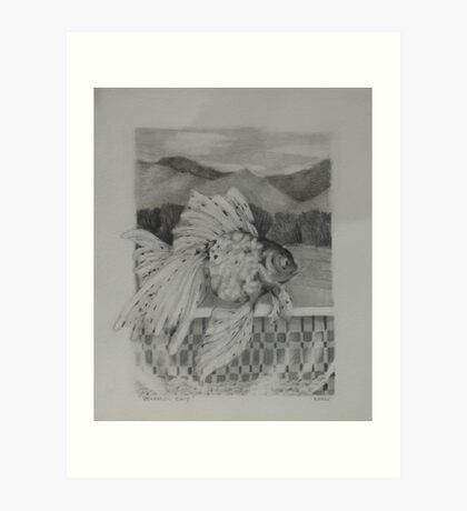 Wasatch Carp Art Print
