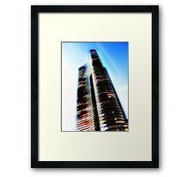 lake point tower, chicago Framed Print