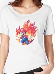 Smash Hype - Mario Women's Relaxed Fit T-Shirt