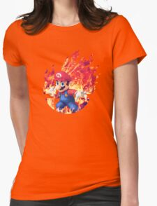 Smash Hype - Mario Womens Fitted T-Shirt