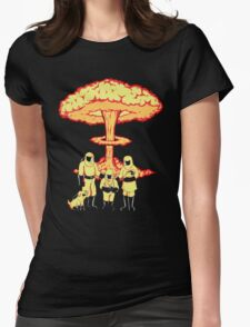 Nuclear Family Womens Fitted T-Shirt