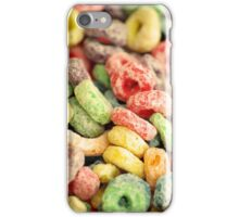 Colourful Fun Abstract Food Art Kitchen Diner Breakfast Cereal iPhone Case/Skin