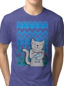 iKat iCat Tri-blend T-Shirt
