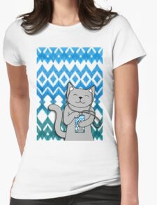 iKat iCat Womens Fitted T-Shirt