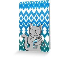 iKat iCat Greeting Card