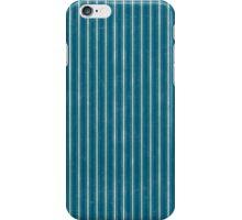Blue Striped Pattern iPhone Case/Skin