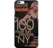 Most Fun People In NY ~ Hedwig and the Angry Inch iPhone Case/Skin