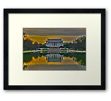 Lincoln Memorial, Washington D.C. Framed Print