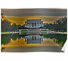 Lincoln Memorial, Washington D.C. Poster