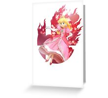 Smash Hype - Peach Greeting Card