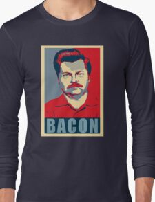 Ron hope swanson  Long Sleeve T-Shirt