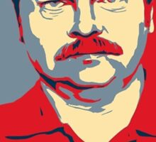 Ron hope swanson  Sticker