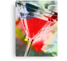 martini red Canvas Print
