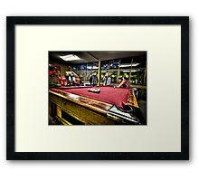 Pool - HDR Framed Print