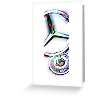 mercedes benz hood ornament Greeting Card