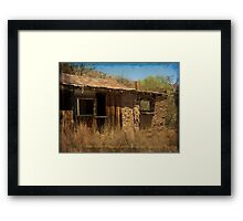 Ghost Town ~ Ruby, Arizona Framed Print