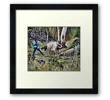 Nice and Easy Framed Print