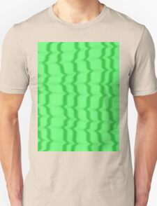 Green Ripples Unisex T-Shirt