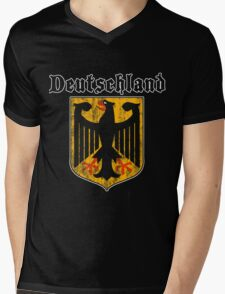 Deutschand Mens V-Neck T-Shirt