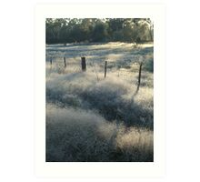 Clouds of Frost Art Print