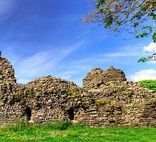 Pendragon Castle Remains by Tom Gomez