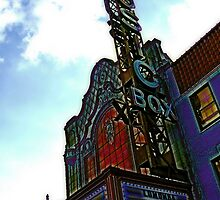 music box movie theater, chicago by brian gregory