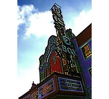 music box movie theater, chicago Photographic Print