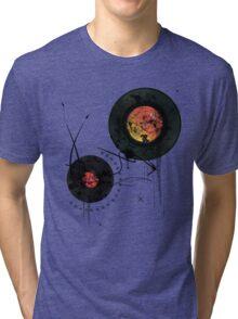 Retro Vinyls  Tri-blend T-Shirt