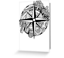 Compass EP Greeting Card