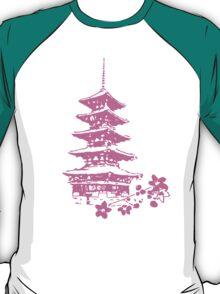 Pink Pagoda T-Shirt