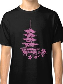 Pink Pagoda Classic T-Shirt