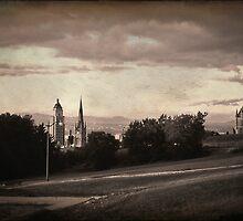 Vintage Quebec City by Ellen Cotton