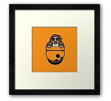 Pocket Dude (02) Framed Print