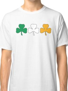 Ireland Shamrock Flag Classic T-Shirt