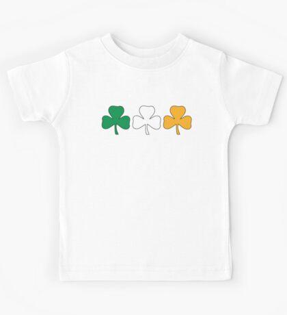 Ireland Shamrock Flag Kids Tee