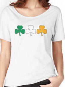 Ireland Shamrock Flag Women's Relaxed Fit T-Shirt