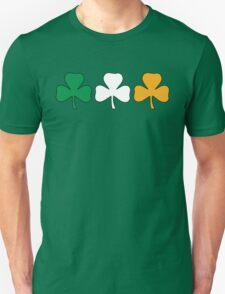 Ireland Shamrock Flag Unisex T-Shirt