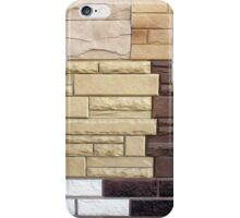 Several types of artificial surface iPhone Case/Skin