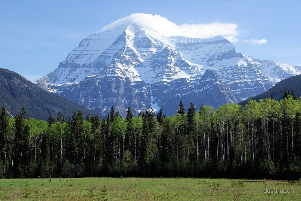 Mt Robson British Columbia Canada  by Don Siebel