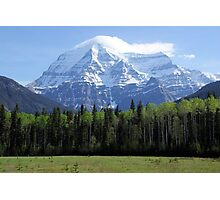 Mt Robson British Columbia Canada  Photographic Print