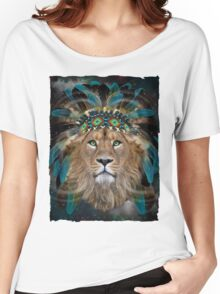 Fight For What You Love (Chief of Dreams: Lion)  Women's Relaxed Fit T-Shirt