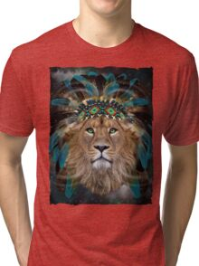 Fight For What You Love (Chief of Dreams: Lion)  Tri-blend T-Shirt
