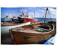 Boats at Beer Poster