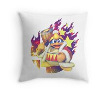 Smash Hype - King Dedede Throw Pillow