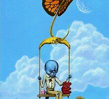 Cornelius' first flight by will crane