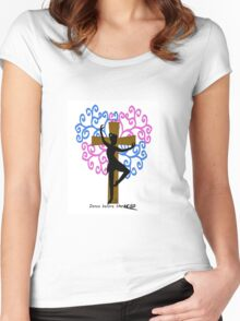 Dance before the Lord Women's Fitted Scoop T-Shirt