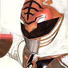 Go Go White Ranger by HolyDemonKnight